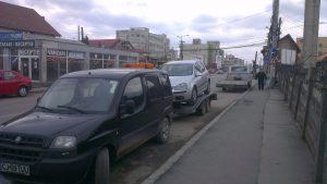 Transport auto oprit din motive de siguranta, la service auto