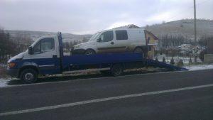 Transport duba defecta pe raza localitatii Cluj-Napoca