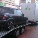 Tractari auto Cluj – Bucuresti si transport marfa