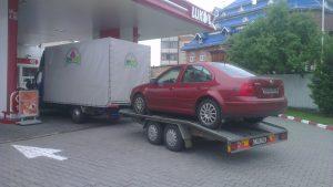 Tractare auto si transport marfa