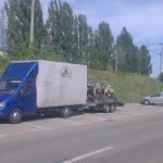 Transport a 10 motociclete din Bucuresti pentru preluarea lor din Cluj de catre turisti straini