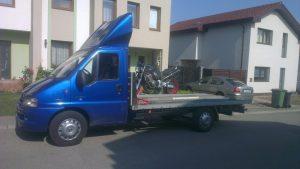 Transport motocicleta