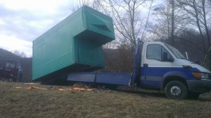 Transport structura camion