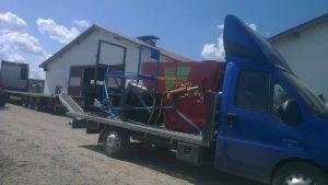 Transport accesorii utilaje agricol