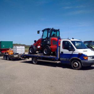 transport incarcator agricol