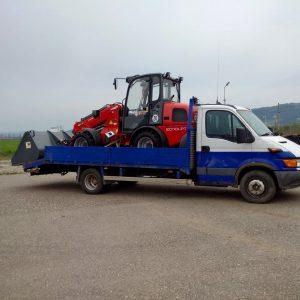 transport utilaj agricol nou